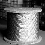 Aircraft cable preformed galvanized