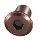 Joint connector cap nuts type JCN decorative