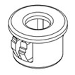Standard insulating bushings nylon UL94V2