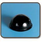 Hemispherical self adhesive bumpers